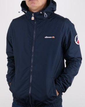 Ellesse Coated Shell Jacket Navy