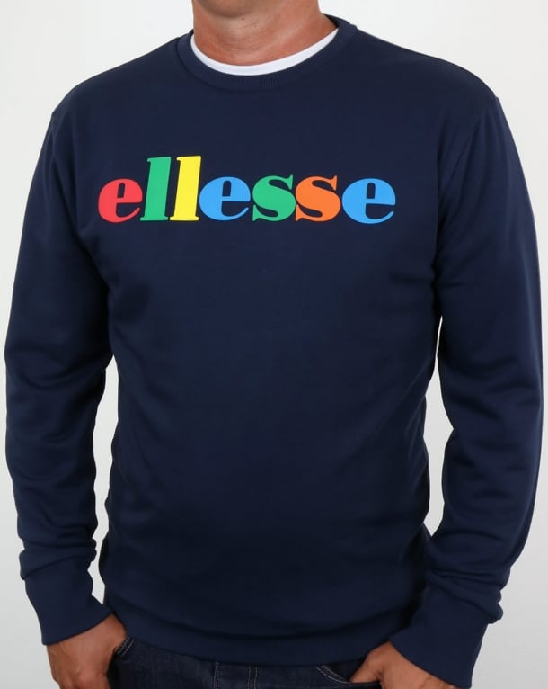 Ellesse Colour Spectrum Sweat Navy