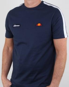Ellesse Crotone T Shirt Navy