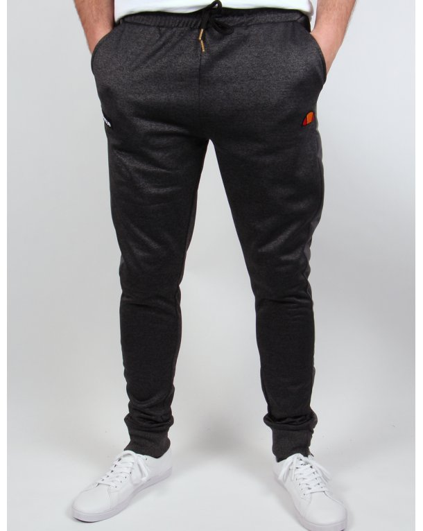Ellesse Damiani Track Bottoms Charcoal Marl