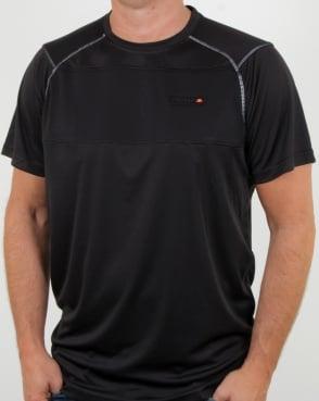 Ellesse Dynamic T Shirt Black