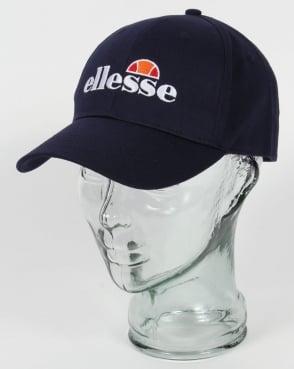 Ellesse Efiso Logo Cap Navy