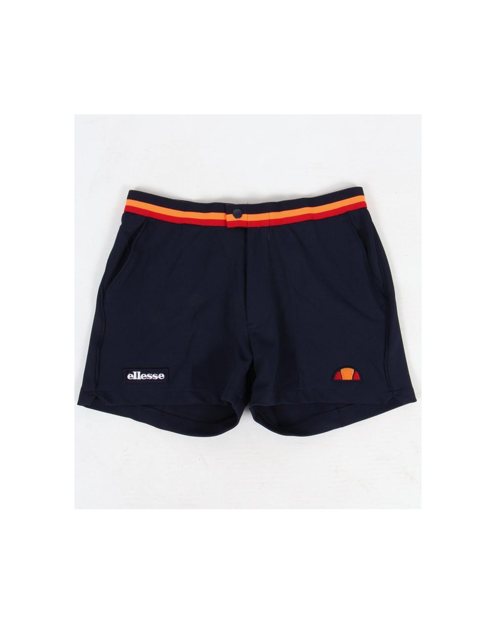 ef06ddb22c16 Ellesse Elite Shorts Navy - ellesse heritage elite shorts in navy blue