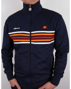Ellesse Elite Track Top Navy
