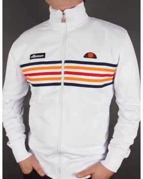 Ellesse Elite Track Top White
