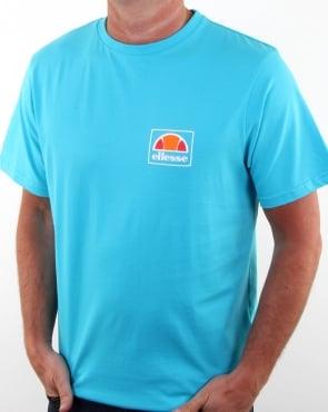 Ellesse Emeroni T Shirt Blue Atoll