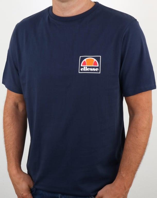 Ellesse Emeroni T Shirt Navy