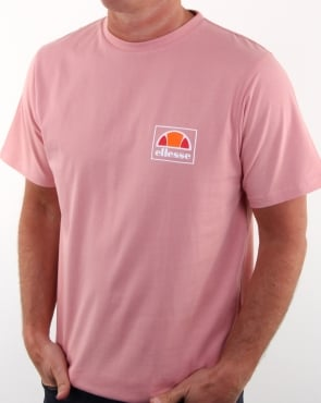Ellesse Emeroni T Shirt Soft Pink