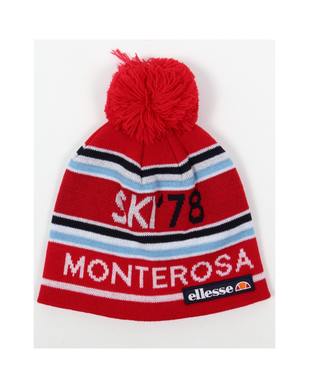 bba6c6b7 Ellesse Ettore Beanie Red - heritage ettore, beanie hat, red