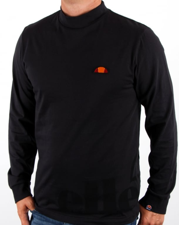 Ellesse Fasubu Ls T Shirt Black