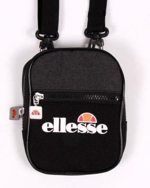 Ellesse Fiero Small Shoulder Bag Black/black Marl