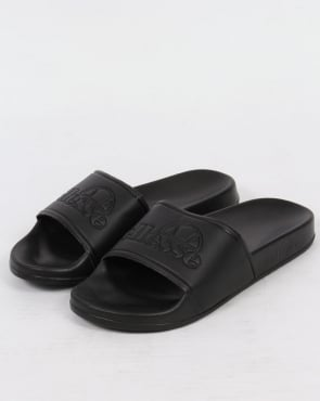 Ellesse Fillipo Slides Black Mono