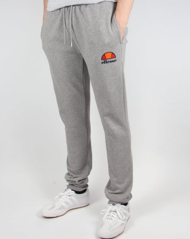 Ellesse fitted Track Bottoms Athletic Grey