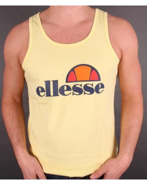Ellesse Frattini Logo Vest Yellow