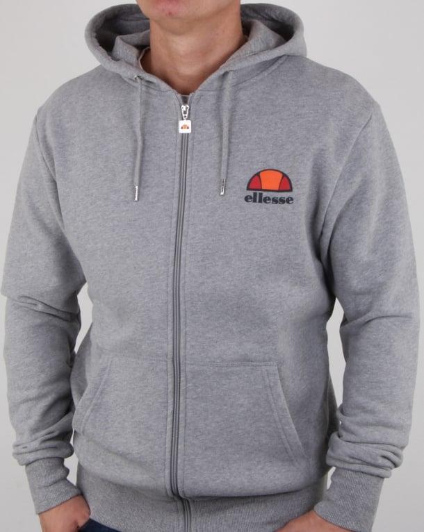 Ellesse Full Zip Hoody Athletic Grey
