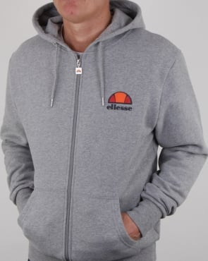 Ellesse Full Zip Hoody Athletic Grey