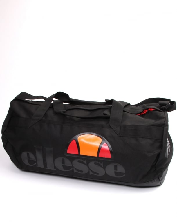 Ellesse Gallo Barrel Bag Black