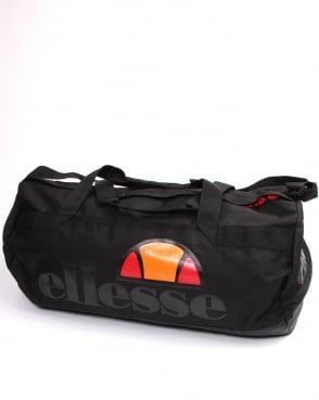 Ellesse Gallo Barrel Bag Black