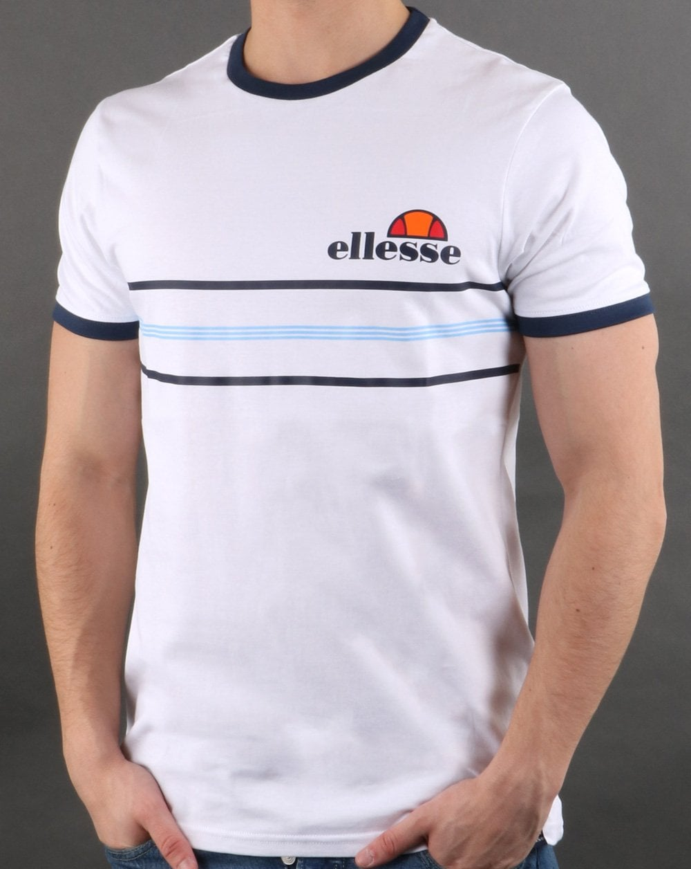 Ellesse Gentario T Shirt White