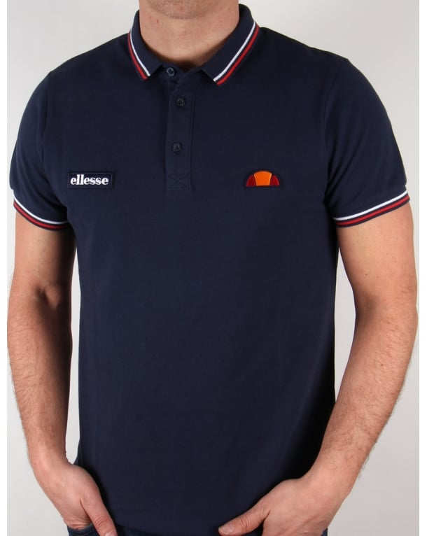 Ellesse Glorenza Polo Shirt Navy