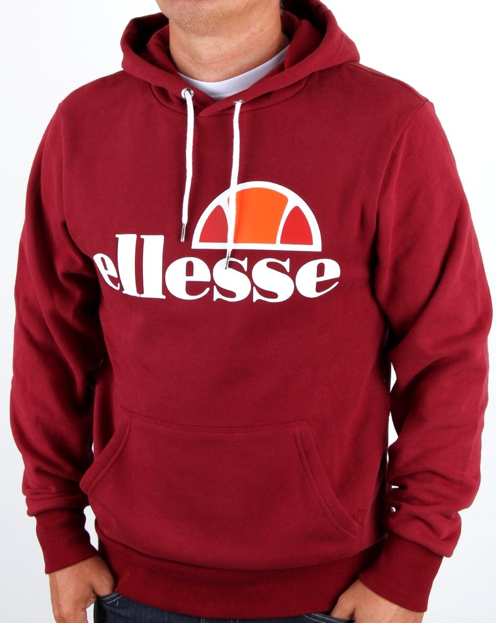 Ellesse Gottero Men Hoody Sweater Hoodie Pullover Sweatshirt Casual Jacket Tops