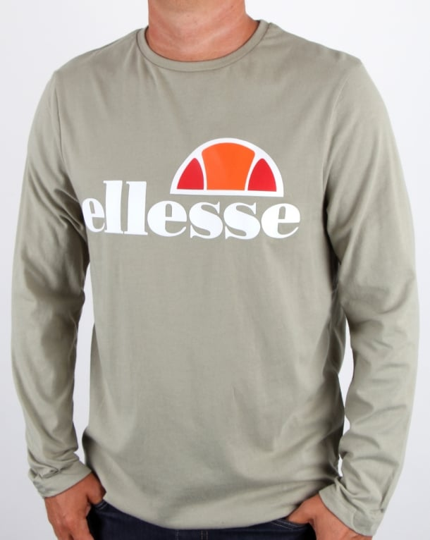 Ellesse Grazie Long Sleeve T Shirt Seagrass
