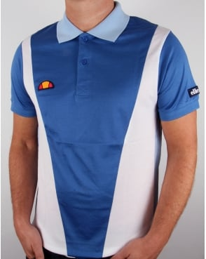 Ellesse Guillermo Polo Shirt Bright Cobalt