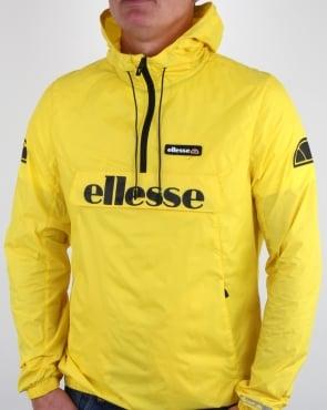 Ellesse Half Zip Jacket Vibrant Yellow