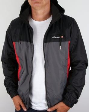 Ellesse Herens Jacket Black/Grey/Red