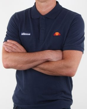 Ellesse Heritage Polo Shirt Navy