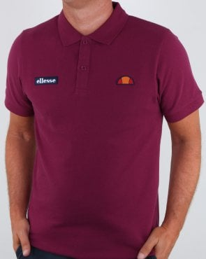 Ellesse Heritage Polo Shirt Purple