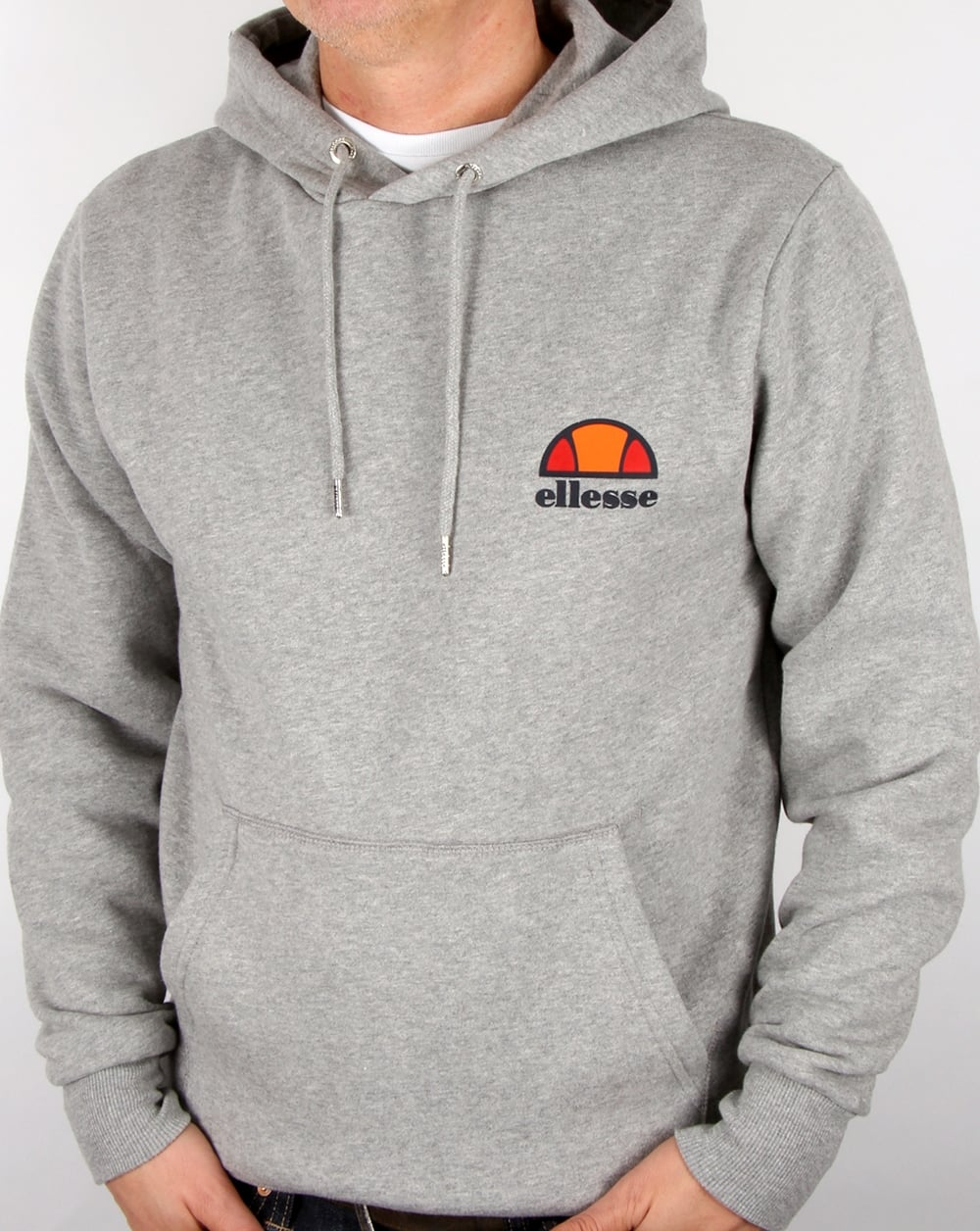 b43c0e81 Ellesse Hoody Athletic Grey
