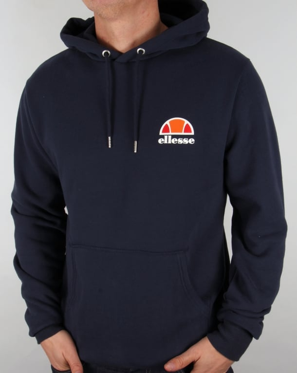 3cc55819cf3c Ellesse Toce Overhead Hoody Navy,hooded,track,top,jacket,mens
