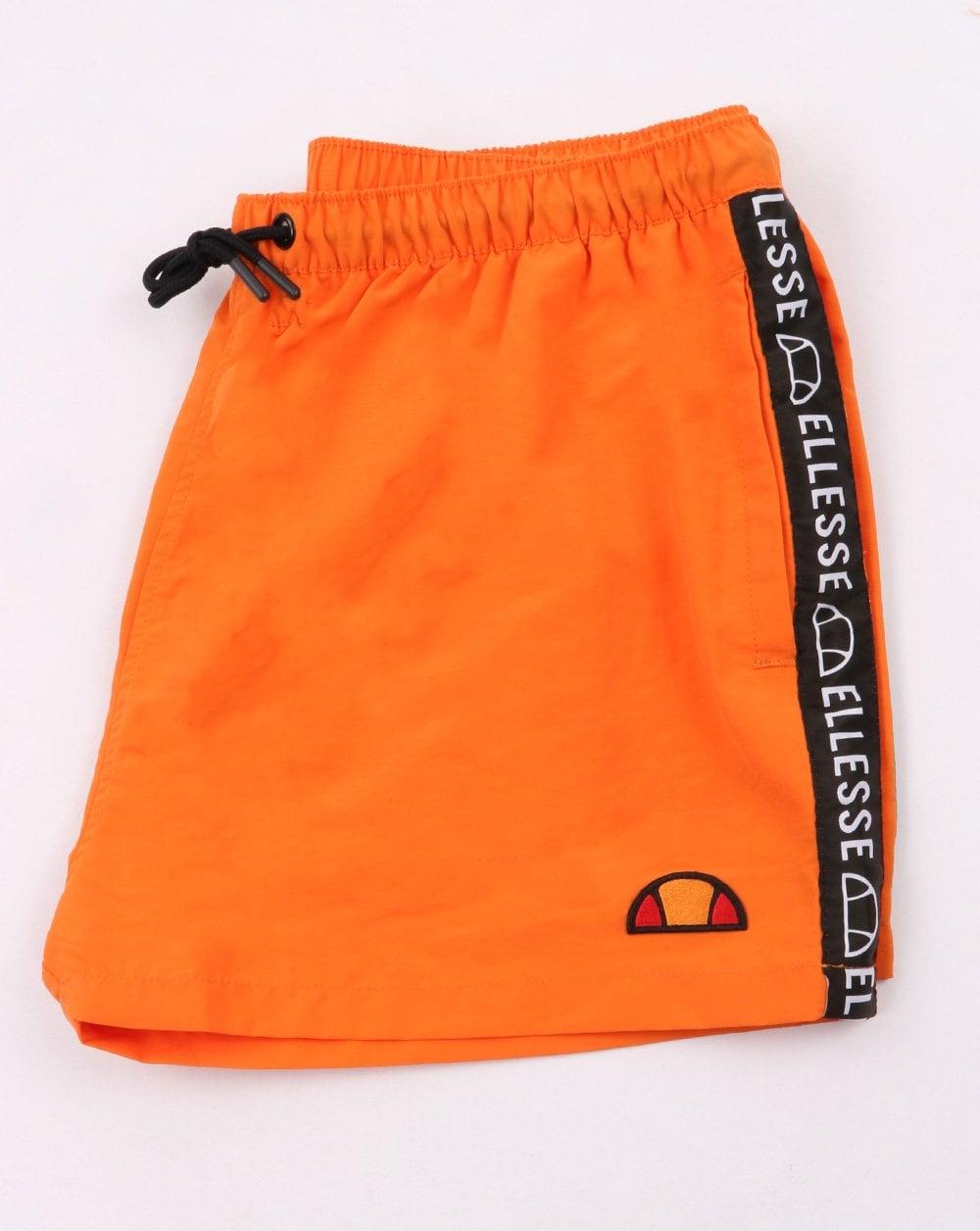 Ellesse Idice Swim Shorts in Orange swimmers beach shorts