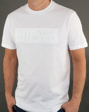 Ellesse Impresso T Shirt White