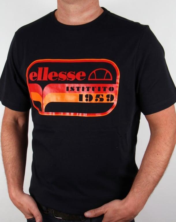 Ellesse Istituto T-shirt Black