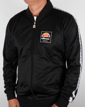 Ellesse Jaynefi Taping Track Top Black