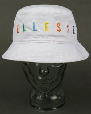 2ffd6d5fb13 Ellesse Veneto Bucket Hat White Navy