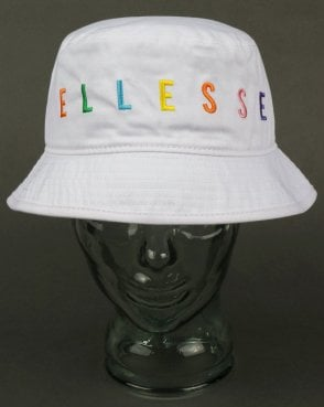 Ellesse Jerso Bucket Hat White