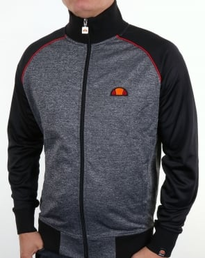 Ellesse Jetter Track Top Heather Charcoal/black