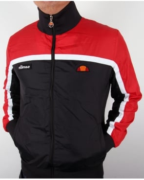 Ellesse Jetty Windbreaker Black/Red