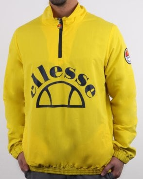Ellesse Junio Qtr Zip Jacket Yellow
