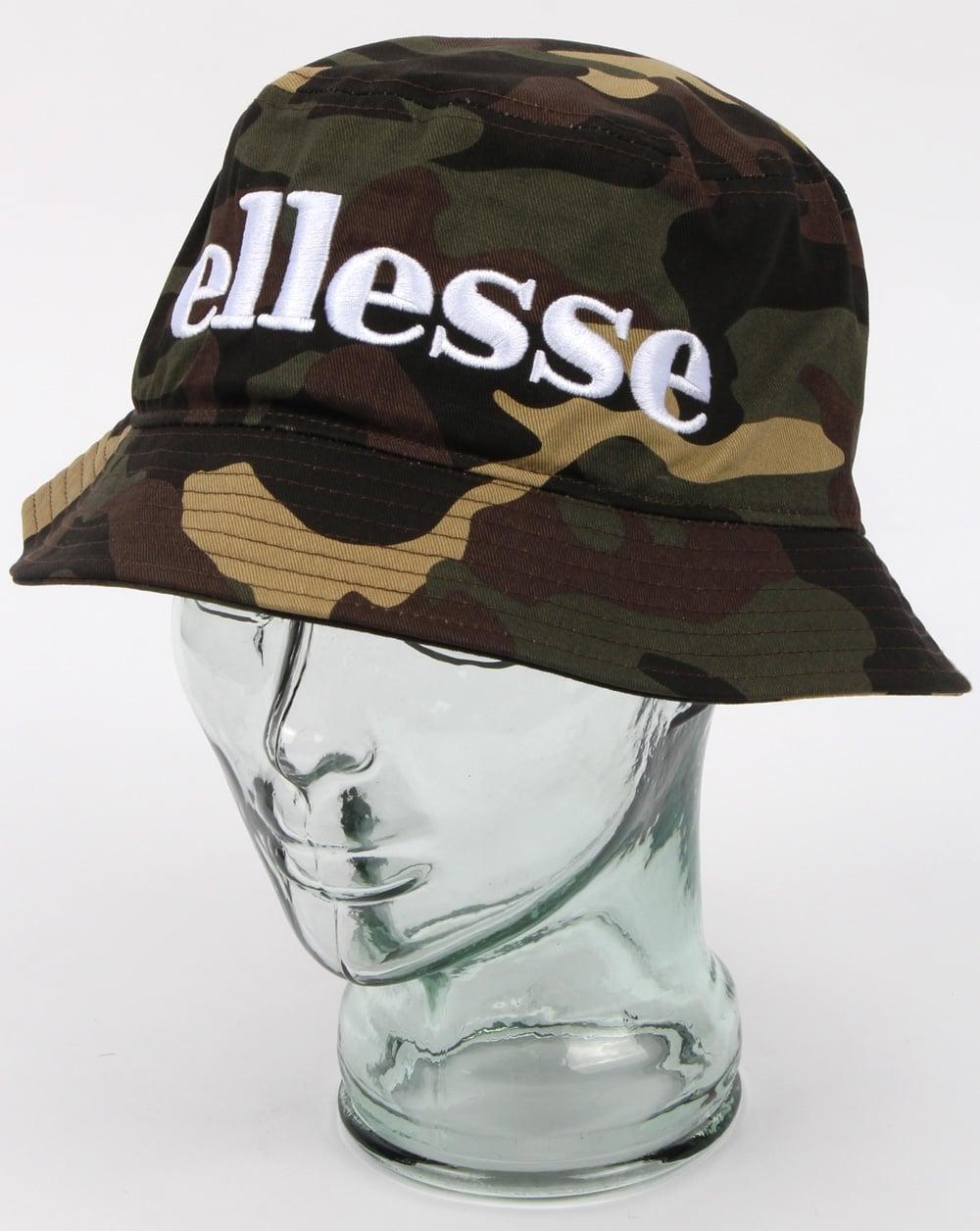 ae0753bbcf Ellesse Larrix Bucket Hat Camo