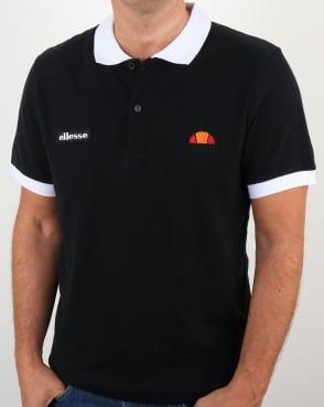 Ellesse Lessepsia Polo Shirt Black