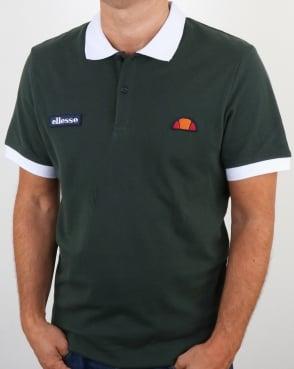 Ellesse Lessepsia Polo Shirt Green