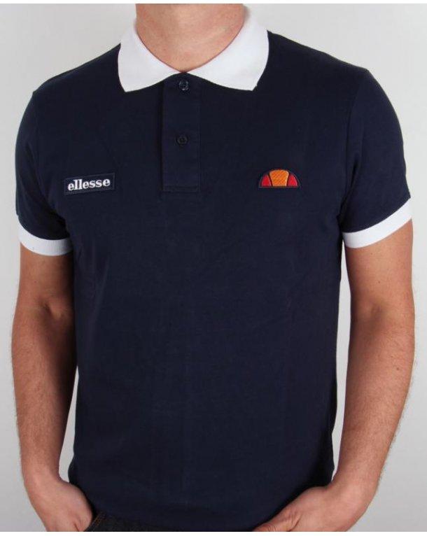 Ellesse Lessepsia Polo Shirt Navy