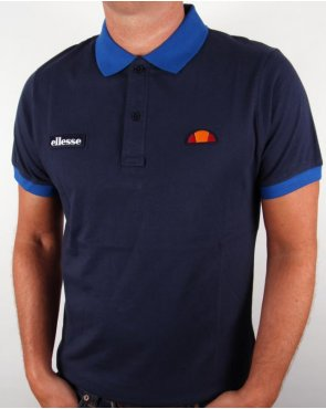 Ellesse Lessepsia Polo Shirt Navy/turkish Sea