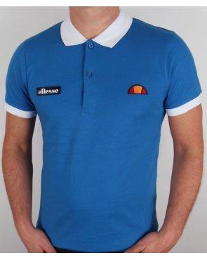 Ellesse Lessepsia Polo Shirt Royal Blue