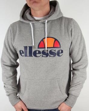 Ellesse Logo Hoody Grey Marl