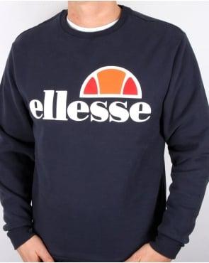Ellesse Logo Sweatshirt Navy